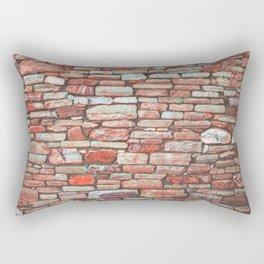 Brick Wall (Color) Rectangular Pillow