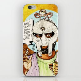 FIGARO: DOOM is my Religion iPhone Skin