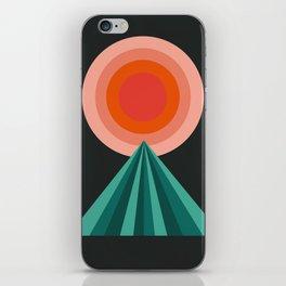Way Decent - 70s retro throwback minimal sun california socal 1970's style iPhone Skin