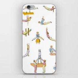 Jaunty Gymnasts iPhone Skin