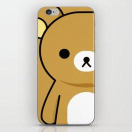 Sad Bear iPhone Skin