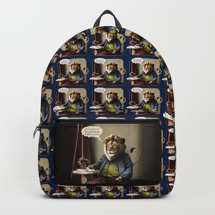 Hungry Lion Backpack