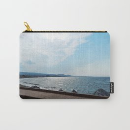Coastal Shoreline and Boardwalk Carry-All Pouch