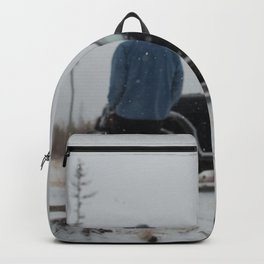 Snow in the Fall Backpack