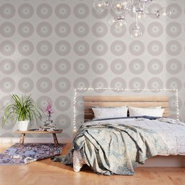 Cream Rose Mandala Wallpaper