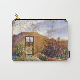 A Southwestern Gate Carry-All Pouch