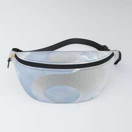 YinYang Love Blue Fanny Pack