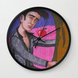 Romancing The Stone Wall Clock