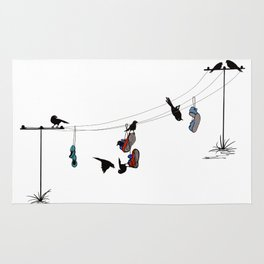 Life on a Wire! Rug