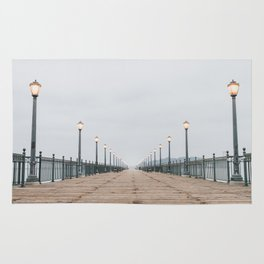 Morning at the Pier Rug
