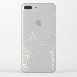 Kate M. X Supreme Clear iPhone Case