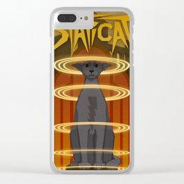 Staticat Clear iPhone Case