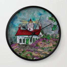 Battery Point Lighthouse Wall Clock