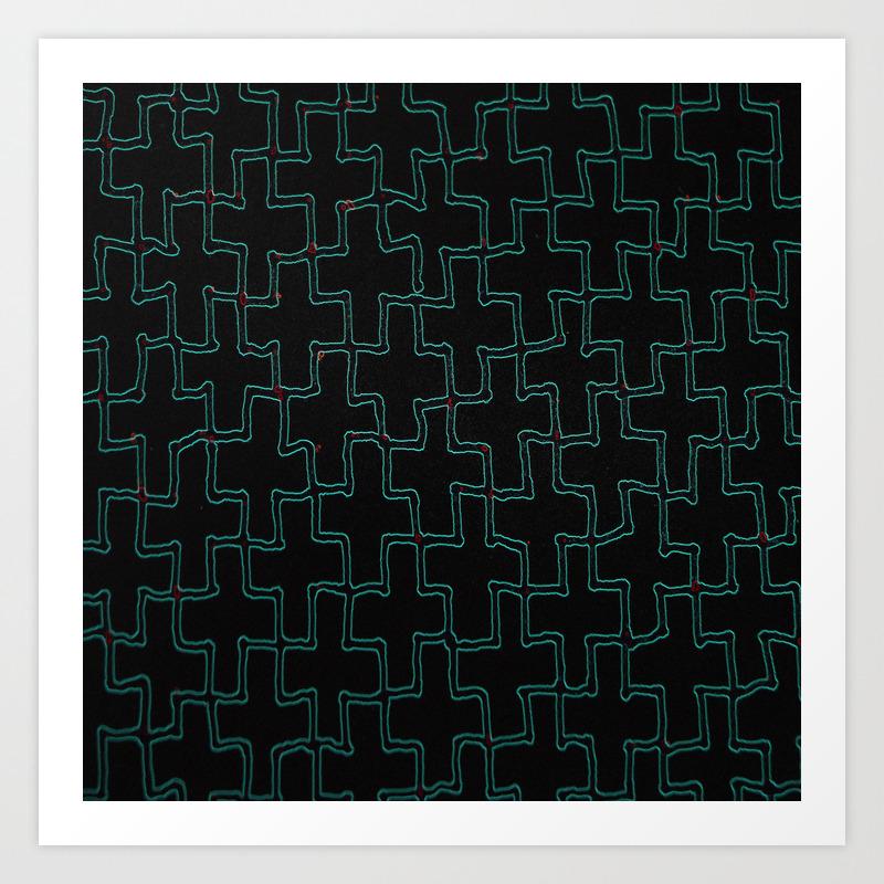 Puzzle Art Print by Chrisstudioart PRN8654839