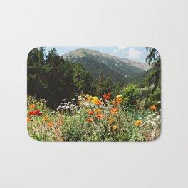 Mountain garden Bath Mat