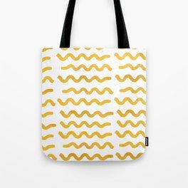 GOLD WIGGLE Tote Bag