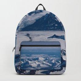 Aerial Glacier Four - Alaska Backpack