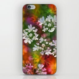 Floral Splash iPhone Skin