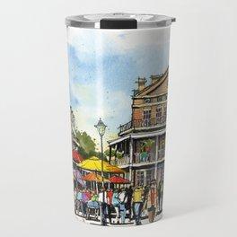 Chartres Street, New Orleans Travel Mug