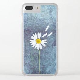 Daisy II Clear iPhone Case