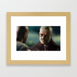 Breaking Bad - Stay Out Of My Territory Framed Art Print