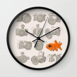 Fisheye Wall Clock