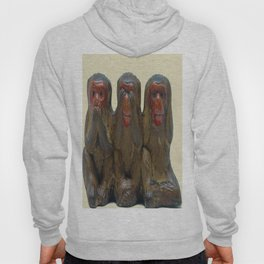 Three Wise Monkeys Hoody