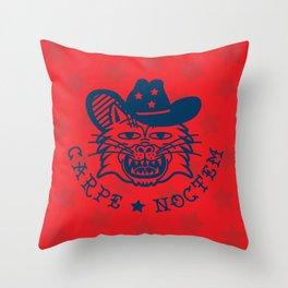 COWBOY KITTY Throw Pillow