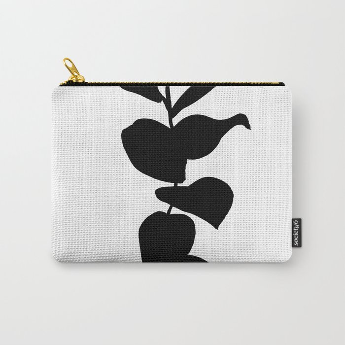 Leaves ink painting - Evie Carry-All Pouch