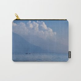 Lake Garda in the Blue Mist Carry-All Pouch