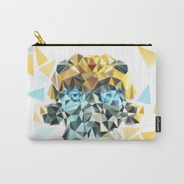 Bumblebee Low Poly Portrait Carry-All Pouch