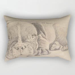 sweet puppy Rectangular Pillow