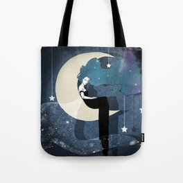 Lady Night 2 Tote Bag