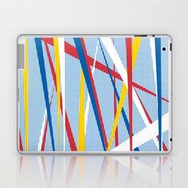 STRIPE w/white Laptop & iPad Skin