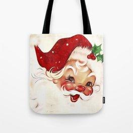 Vintage Santa 4 Tote Bag