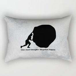 Camus - Sisyphus Rectangular Pillow