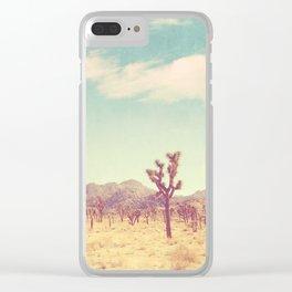 Joshua Tree photograph, desert print, No. 189 Clear iPhone Case