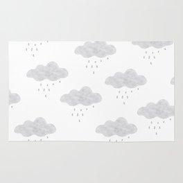 Rainy cloud Rug