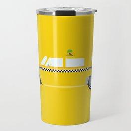 New York Yellow Taxi Travel Mug