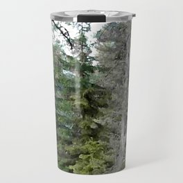 Crow, the forest gate keeper Travel Mug