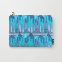 ZigZag All Day - Blue Carry-All Pouch