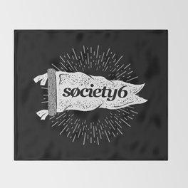 Society6 Banner Throw Blanket