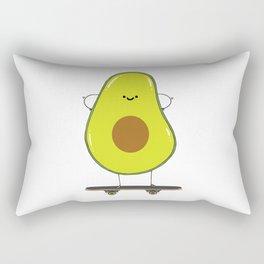 Avocado skater Rectangular Pillow