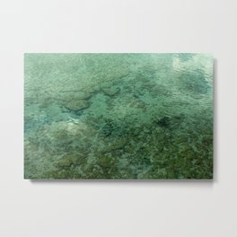 Kona Water Metal Print