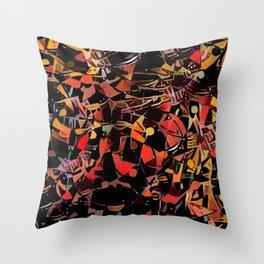 Sketchy Mosiac Throw Pillow
