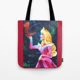 Princess Aurora Van Gogh Tote Bag