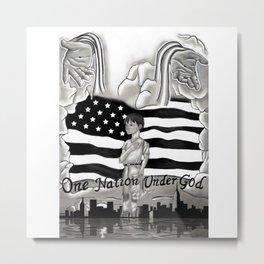 911: One Nation Under God Metal Print