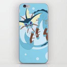 Water Steampunk Fox iPhone Skin