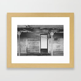 private property. Framed Art Print