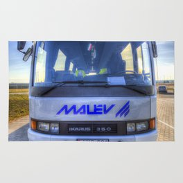 Malev Airlines Bus Rug
